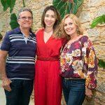Claudio Vieira, Paula Costa e Arlene Vieira