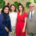 Cristina Burlamaqui, Nola Palermo, Paula Costa e Afonso Burlamaqui