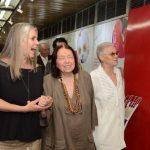 Cristina Oldemburg, Nélida Piñon e Ana Maria Santeiro