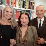 Cristina Oldemburg, Nélida Piñon e Antonio Torres