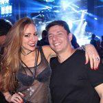 DJ Eve Reis e Claudio Soares .
