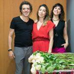 Paulinho Moska, Paula Costa e Larissa Bracher