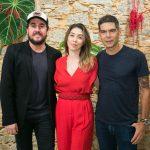 Rodrigo Suricato, Paula Costa e Dado Villa Lobos