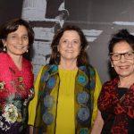Ester Lima, Helena Severo e Suely Dias
