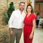 Fernando Torquatro e Paula Costa