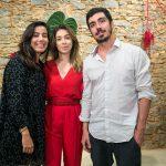 Flavia Miranda, Paula Costa e Gabriel Oliveira