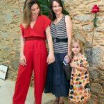 Paula Costa, Patricia Magalhães e Sophia Magalhães
