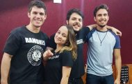 """Finalista do """"Iluminados"""" grava música com a Banda Beker"""