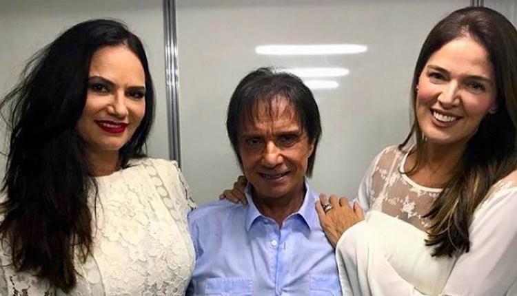 Fãs famosas de Roberto Carlos assistem ao show no Vivo Rio