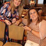 Claudia Jannuzzi e Theresa macedo