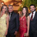 Claudia Resende, Kelson oliveira, Karina Oliveira e Felipe Vorcaro