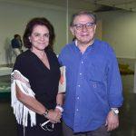 Cristina Burlamaqui e Luciano Figueiredo