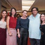 Geisa Rabello, Cecilia Ligiero, Adriana Mattar, Antonio Neves da Rocha e Eugenia Del Vigna