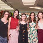 Mariana Carvalho, Cecilia Ligiero, Eugenia Del Vigna, Joana Nolasco e Geisa Rabello