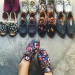 Insecta Shoes - sapatos artesanais (tecidos da reciclagem de garrafas PET, algodão residual, e reaproveitamento de peças garimpadas em brechós com solas são de borracha triturada