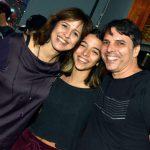 O casal Daniella Cavalcanti e André Braga com sua filha Luiza