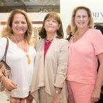 Renata Fraga, Monica Barreto e Gloria Severiano Ribeiro