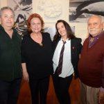 Roberto Padilha, Marcelle Pithon, Marilou Winograd e o curador Ry Sampaio