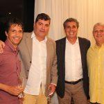Ronny Alencar, Sávio Neves, Cesar Curi e Solon Santos