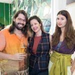 Thomaz Azulay, Daniela Bechara e Raquel Wymann
