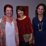 Wal Weissmann, Cristina Daibert e Carmen Louro