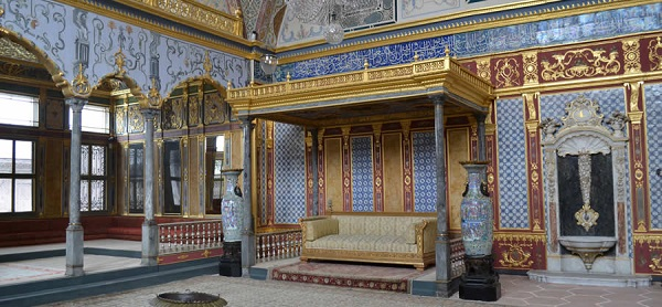 O harém no Palácio Topkaki, Istambul