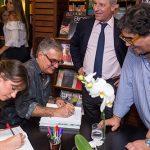 Antonio Neves da Rocha com os autores