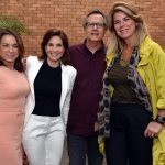 Yvonne Bezerra de Melo , Fatima Tostes , Paulo Roberto Direito e Cris Parisi