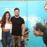 Daniel Rocha e a namorada, Laise Leal