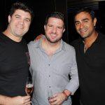 Dudu Moreira, Alvinho Moreira da Camélia e Felipe Bornier
