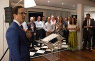 O Cônsul Geral da Holanda no Rio de Janeiro, Roland Martin recebe convidados para celebração dos 65 anos da Dutcham