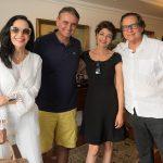 Liliana Rodrigues, João Pedro Figueira, Sonia Mattos e Nestor Rocha