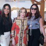 Margot Martins, Ilka Bambirra e Rosangela de Oliveira