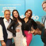 Mario Meirelles, Luana Soares e Simone Soares
