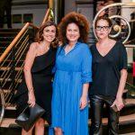 Monica de Souza, Tatiana Carvalho e Natalya Diorio