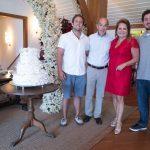 Rafael, Paulo, Renata e Rodrigo Fraga