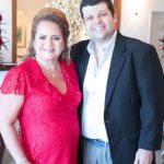 Renata fraga e Carlos Lamoglia