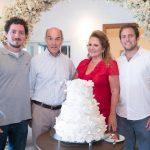 Rodrigo, Paulo, Renata e Rafael Fraga