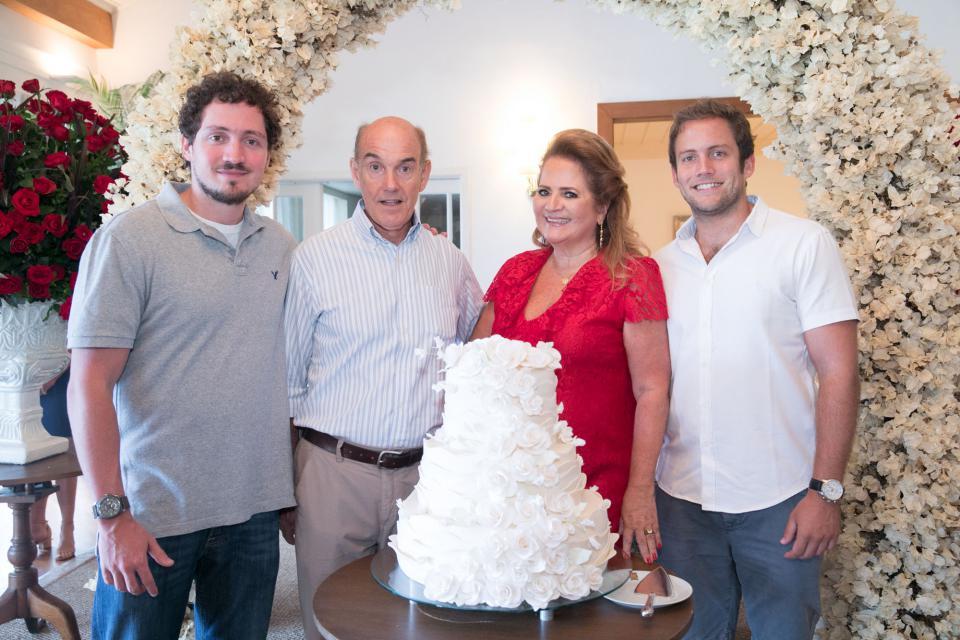 Renata Fraga comemora aniversário em alto estilo