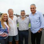 Sandra Silva, Zico, Regino Barros e Tite