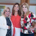 Viviane Cohen, Raquel Verri e Ines Costa