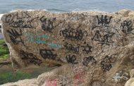 Sou Rio Sustentável promove retirada de pichações das pedras do Arpoador