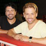 Andre Ramos e Bruno Chateaubriand