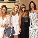 Gorete Colaço, Juliana Neves, Aline Araujo e Mabel Graham