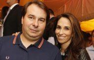 Rodrigo Maia e Patrícia: a chegada de um novo folião