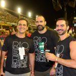 Marcelo Dadoorian, Antonio Souza e Sergio Teixeira