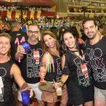 Rodrigo Kestering, Eduardo Machado, Aline Barros, Aline Barbosa e Zenio Farias Filho
