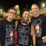 Rodrigo Jorge, Alexandre Cardim e Jorge Delmas