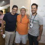 Jorge Pontual, Carlos Kirmayr e Roger Gobeth