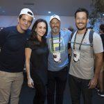 Jorge Pontual, Flavia Monteiro, Avner Saragossy e Roger Gobeth